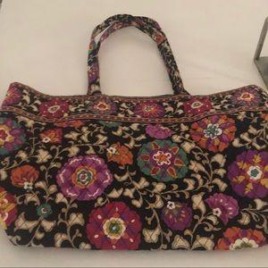 Vera Bradley large Suzani tote bag